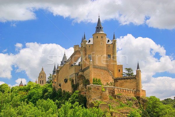 Segovia Alcazar 16 Stock photo © LianeM