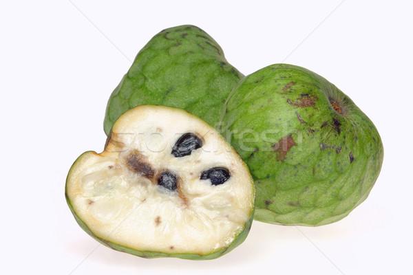 13 gyümölcs zöld trópusi fehér friss Stock fotó © LianeM