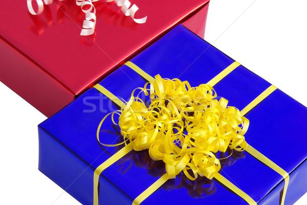 Photo stock: Présents · 16 · design · anniversaire · fond · Shopping