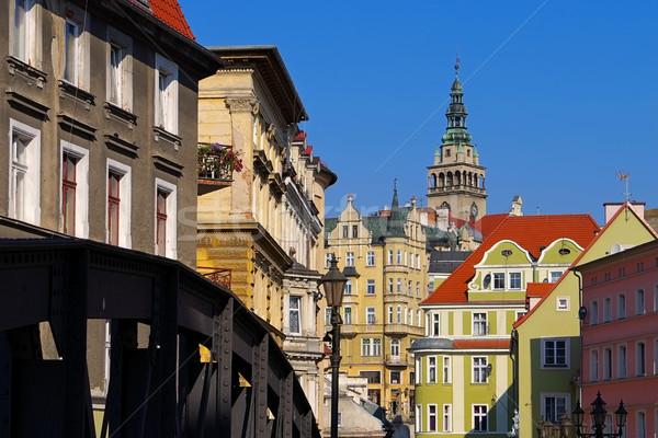 Klodzko (Glatz) in Silesia, Poland Stock photo © LianeM