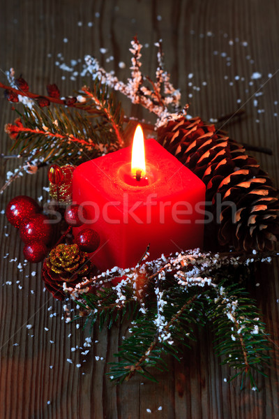 Christmas composition. Stock photo © lidante