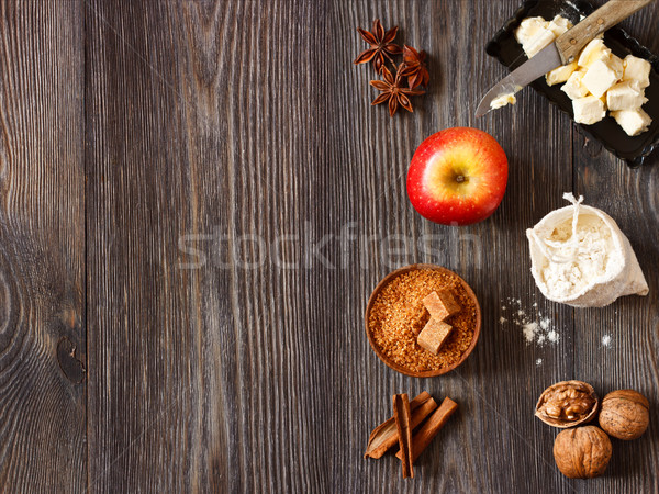Apple pie. Stock photo © lidante