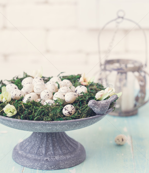 Easter shabby chic. Stock photo © lidante