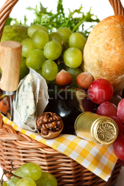 Ingredients for good picnic. Stock photo © lidante