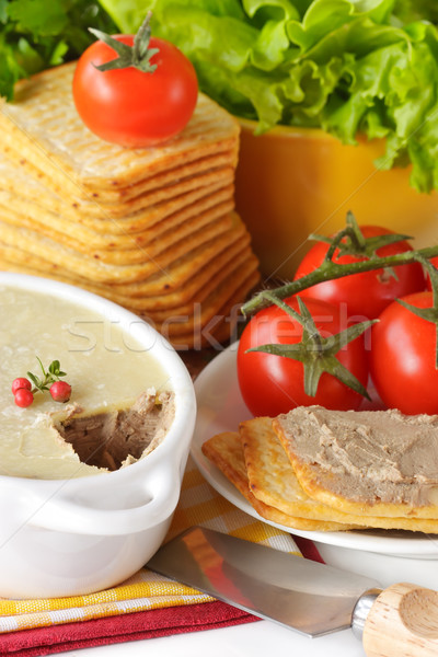 Pate for a breakfast. Stock photo © lidante
