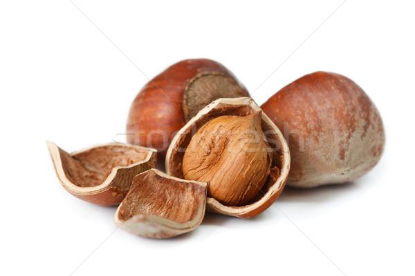 Hazelnuts. Stock photo © lidante