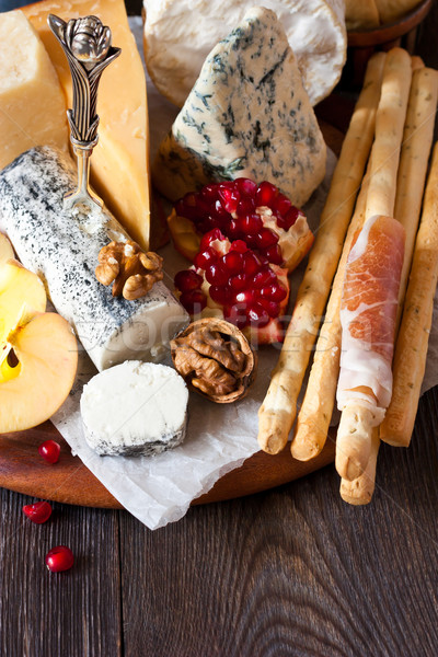 Cheese platter. Stock photo © lidante