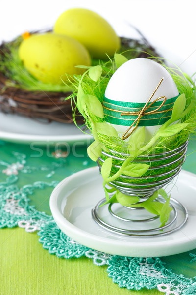 Easter egg. Stock photo © lidante