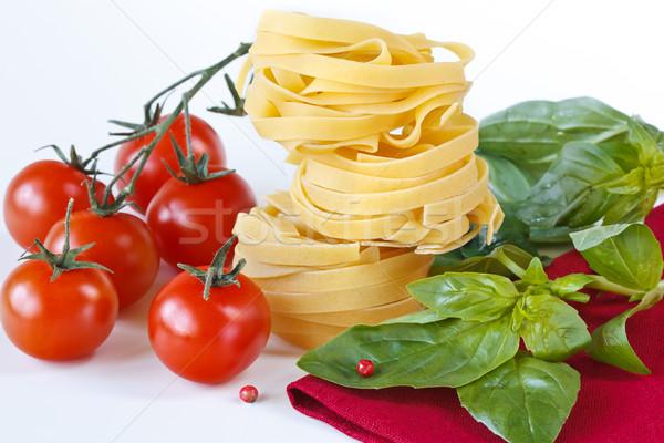 Pasta tagliatelle. Stock photo © lidante