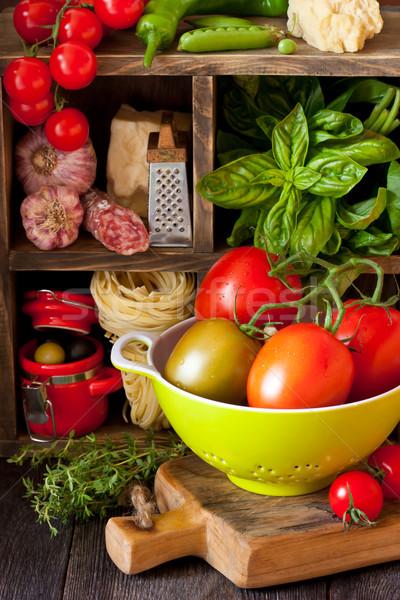 Italian food. Stock photo © lidante