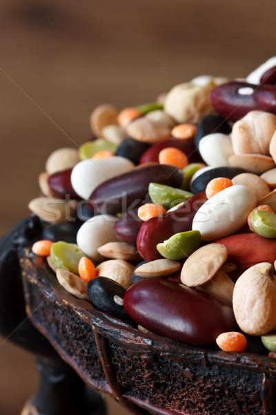 Peulvruchten bonen erwten Stockfoto © lidante