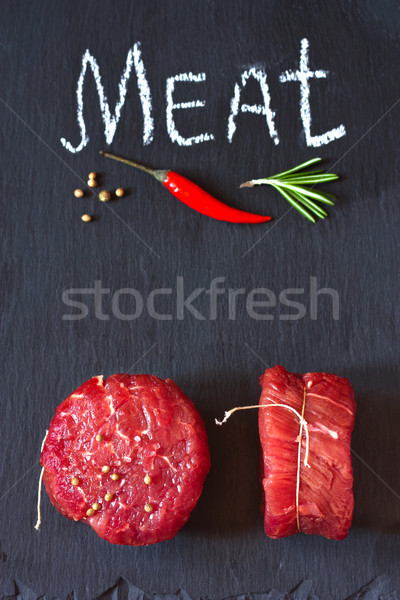 Meat. Stock photo © lidante