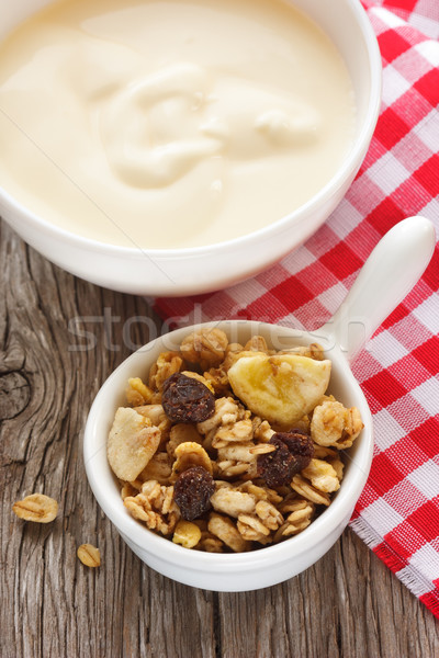 Granola and yogurt. Stock photo © lidante