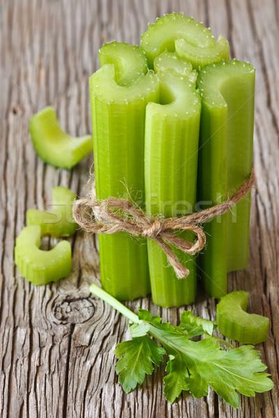 Céleri fraîches santé vert couleur Photo stock © lidante