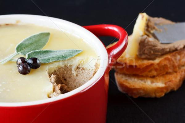 Delicious pate. Stock photo © lidante