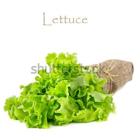 レタス 新鮮な 葉 白 春 食品 ストックフォト © lidante