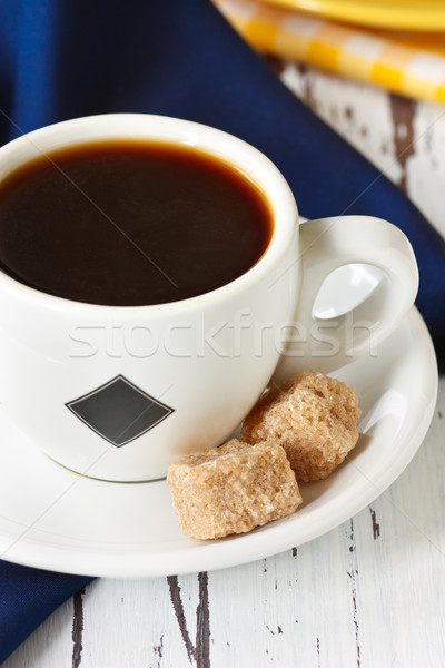 Cup of coffee. Stock photo © lidante