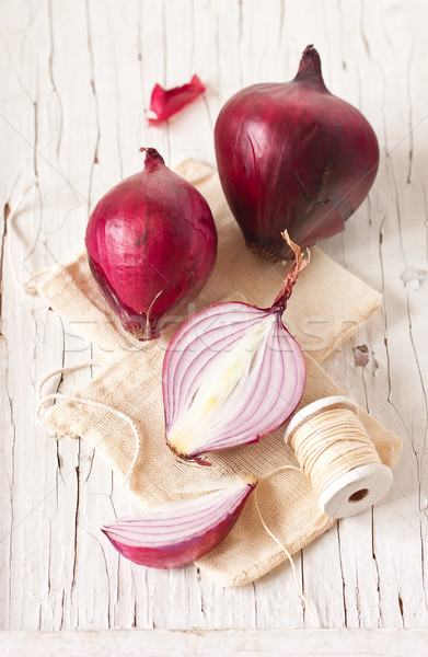 Red onion. Stock photo © lidante