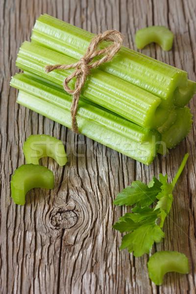 Sedano fresche salute verde colore Foto d'archivio © lidante