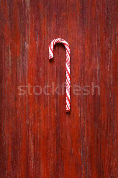 Sweet candy cane. Stock photo © lidante