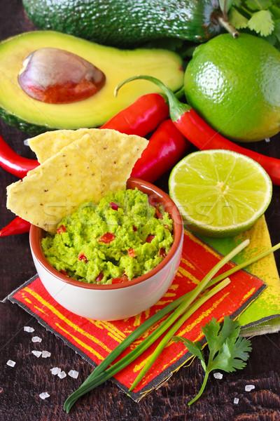 Guacamole dip. Stock photo © lidante