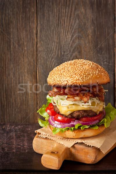 Hamburger. Stock photo © lidante