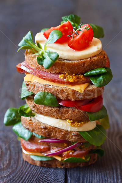 Sandwich. Stock photo © lidante