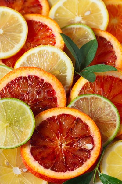 Citrus fruit. Stock photo © lidante