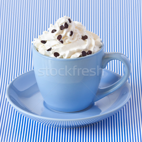 Coffee with whipped cream. Stock photo © lidante