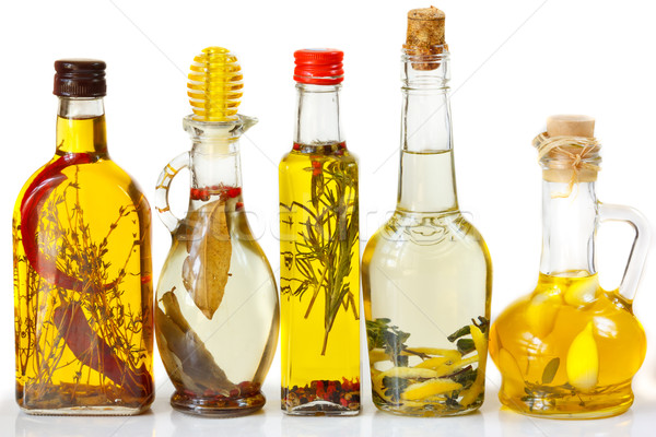 Stock photo: Olive oil.