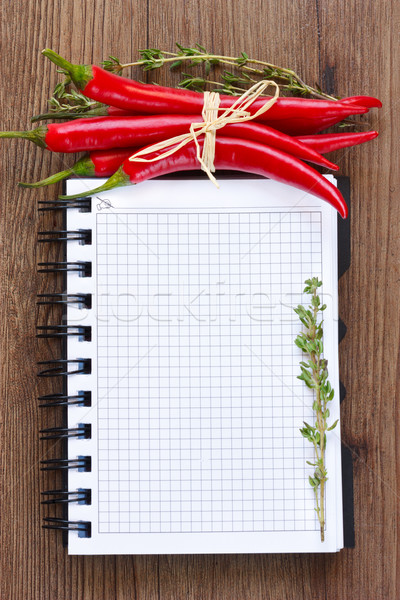 Cookbook. Stock photo © lidante