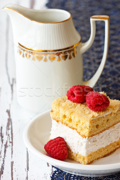Delicious cake. Stock photo © lidante
