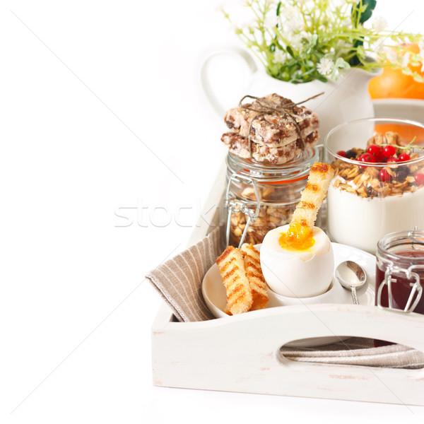 Rustic breakfast. Stock photo © lidante