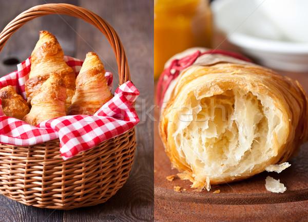 Croissants. Stock photo © lidante