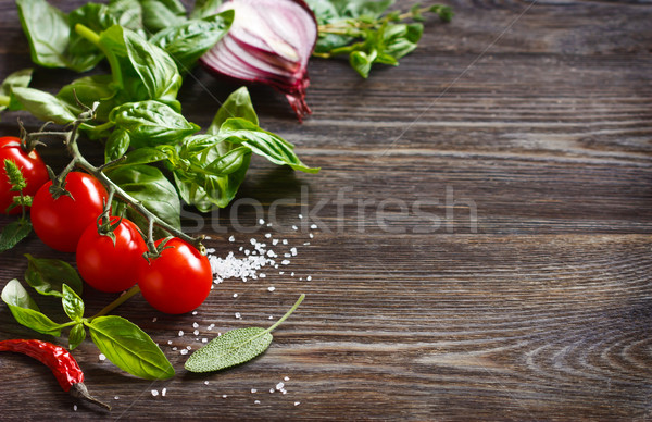 Fresh vegetables. Stock photo © lidante