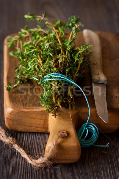 Thyme. Stock photo © lidante