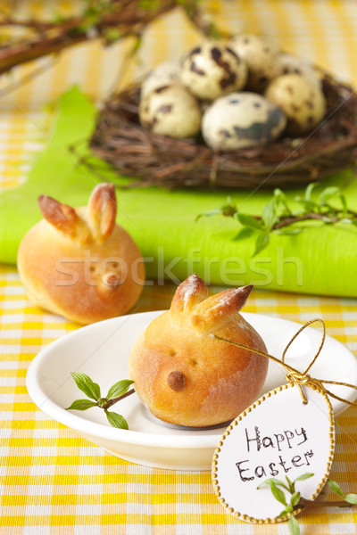 Easter bunny buns. Stock photo © lidante