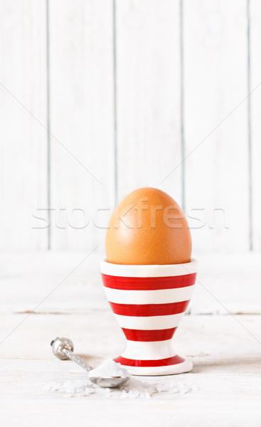 Just egg. Stock photo © lidante