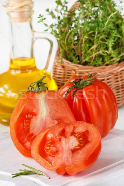 Big tomatoes. Stock photo © lidante