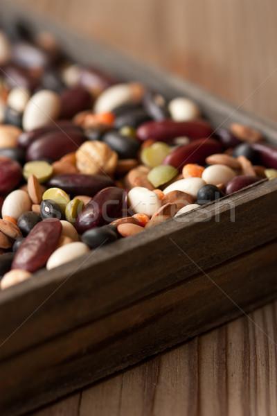 Legumes close-up. Stock photo © lidante