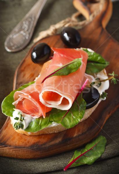 Ham sandwich. Stock photo © lidante