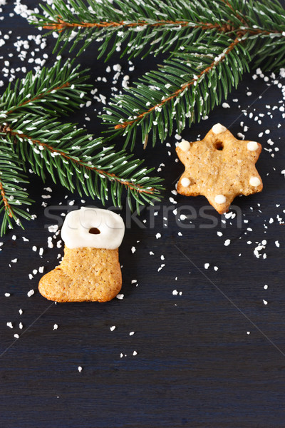 Christmas gingerbread. Stock photo © lidante