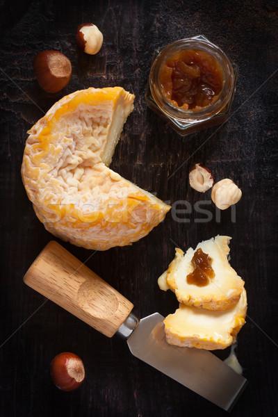 チーズ フランス語 ナッツ 古い 木製 ファーム ストックフォト © lidante