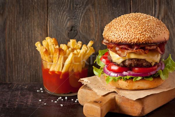 Fast food. Stock photo © lidante