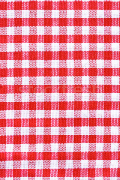 Tablecloth fabric texture. Stock photo © lidante