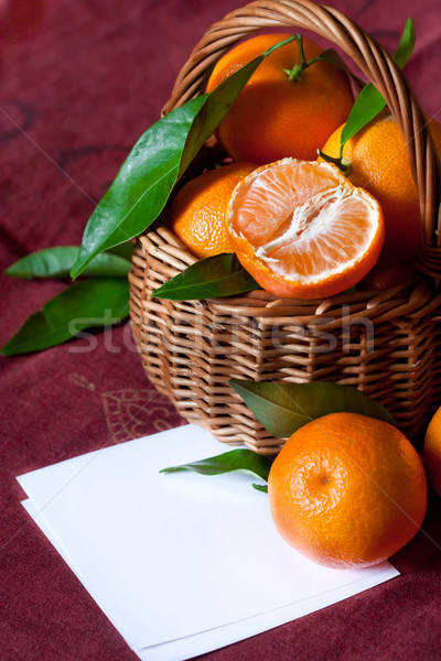 Tangerines. Stock photo © lidante