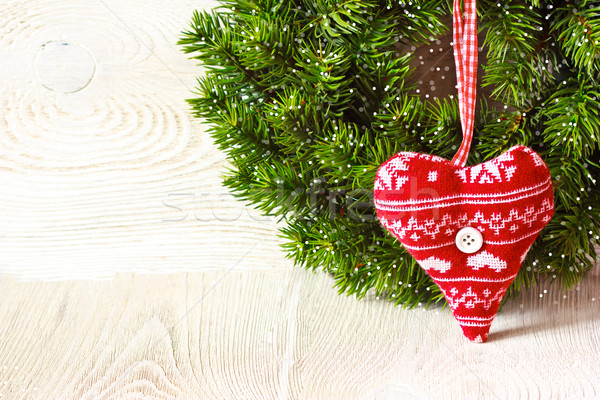 Christmas background. Stock photo © lidante