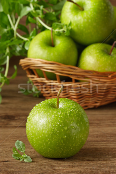 Green apples. Stock photo © lidante
