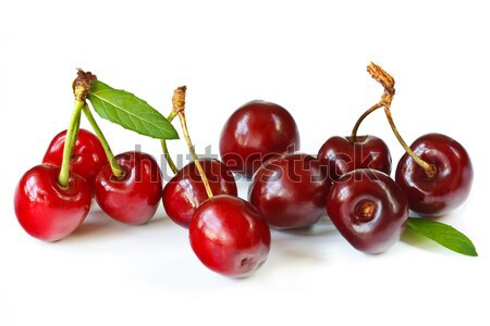 Sweet cherry. Stock photo © lidante