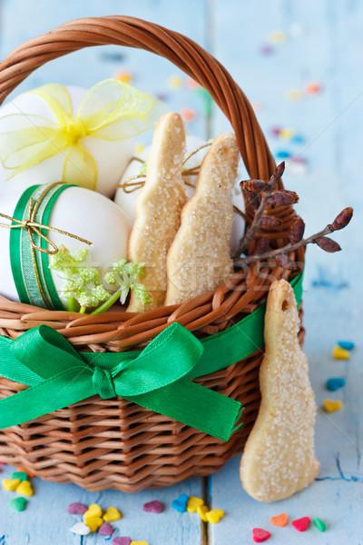 Easter basket. Stock photo © lidante